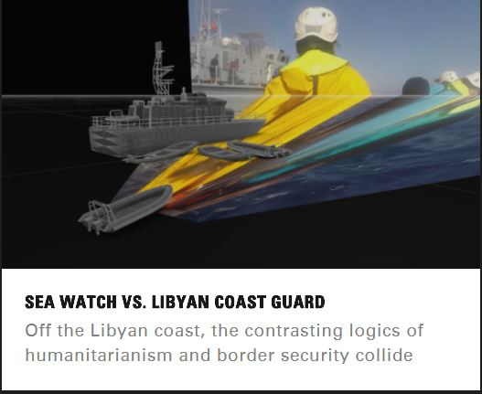 Foresenic Sea Watch vs Libyan coast guard
