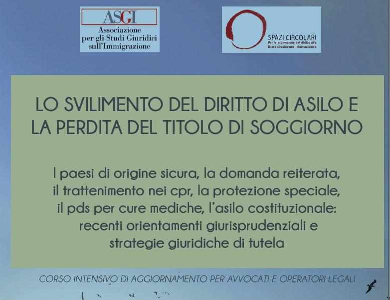 Roma - Lo svilimento del diritto di asilo e la perdita del ...
